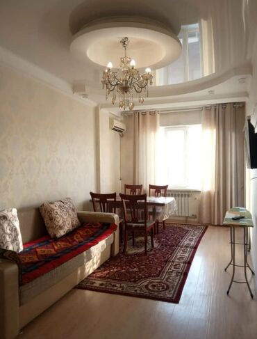 фрунзе гипермаркет бишкек в Кыргызстан: Сдается квартира: 2 комнаты, 50 кв. м, Бишкек
