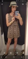 Sinsay letnja haljinica kratka, S velicina, nosena par puta,u odlicnom - Zajecar