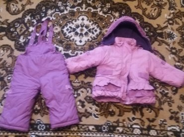 Продаю комбинезон +куртку на 1. 5-2 года. в отличном состоянии. в Бишкек