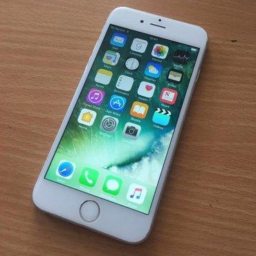 Bakı şəhərində Iphone 6 silver 16 gb ideal vezyetde. Hecbir problemi yoxdur. Zaryatka