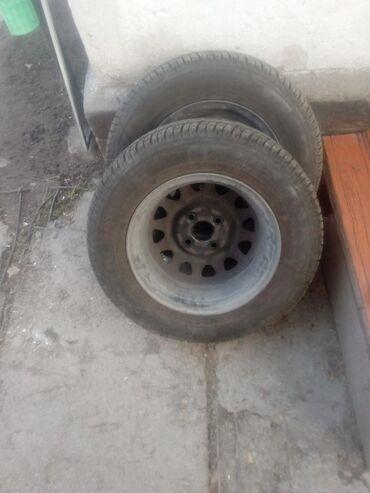 r13 диски в Кыргызстан: Продаю резину с дисками R13 от мазды демио в хорошем состоянии