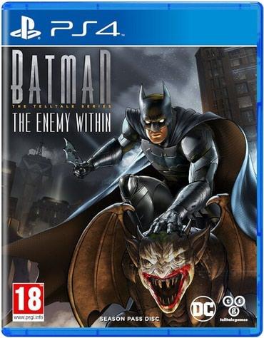 Bakı şəhərində Ps4 üçün batman the enemy within oyun diski satılır