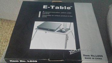 PDA i oprema | Srbija: E-table(sto za lap top). Nemojte zvati na ovaj broj nego posaljite