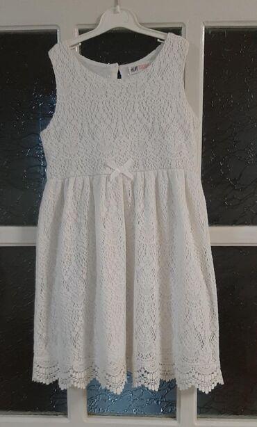 H&M haljinica, vel 122-128 cm. Prelepa, koncana i mekana