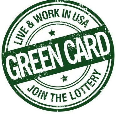 Регистрация Green card! Гарантия правильного и точного заполнения!  Ус