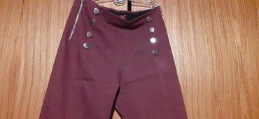 Ostalo   Majdanpek: Bordo pantalonice S velicina 500 din