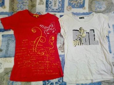 Obe majice su 200 dinara S veličina - Pozarevac