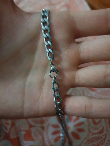 Украшения - Лебединовка: Продаю цепочку серебро металик абсолютно новый с мошочком