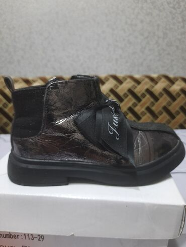 Детские флис - Кыргызстан: Продаю детскую обувь внутри флис