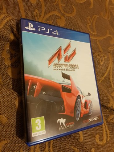 Assetto corsa ps4 game