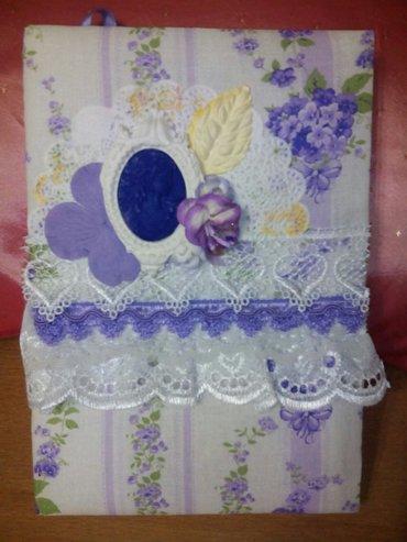 блокнот для записей. подарок для девушки на любой праздник. ручная раб в Бишкек