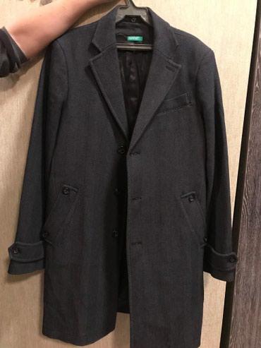 Пальто, 48 размер, United Colors of Benetton. Одевал в Бишкек