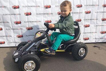 Детский мир - Бостери: Продаем новый детский электрический карт с резиновыми колесами (без