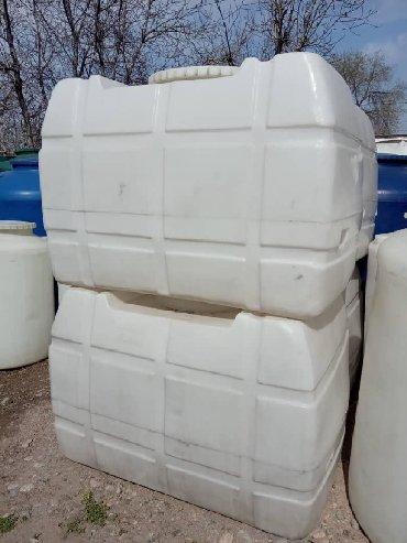Цистерну на 10 тонн - Кыргызстан: Бочки заводские 3-х слойные пищевые. Объем от 200 литров до 10 тонн