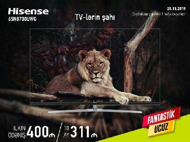 Elektronika Gürganda: Hisense 65N8700UWG Kreditlə satışı Arayışsız zaminsiz Qeydiyyat fərqi