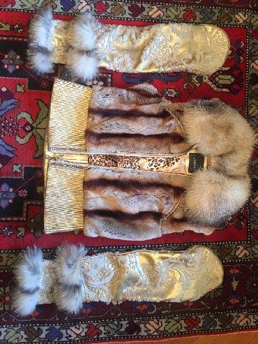 10428 elan | QADIN GEYIMLƏRI: Куртка Жилет GIZIA (одевали пару раз)рукава съёмные натуральная кожа