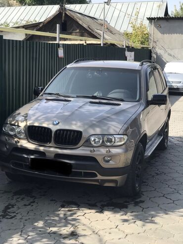 Bmw x3 xdrive20i mt - Кыргызстан: BMW X5 3 л. 2005 | 300000 км