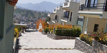 A new semi bungalow beautiful house having land area 0-5-0-0 of 2.5 in Kathmandu