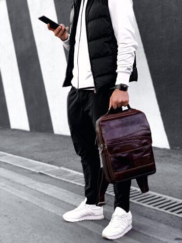Мужские рюкзаки из натуральной кожи. Качество отличное. Есть много