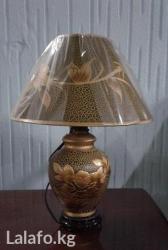 Лампа высотой 40 см,прикроватная в Бишкек