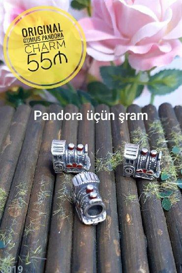 Original Gumus Pandora CHARM - 55 ₼