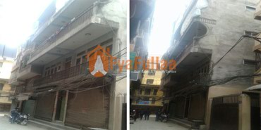 Fully commercial lat system house having land area 0-2-3-2 of 5.5 in Kathmandu