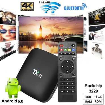 Android tv box/smart tv/mini pc tx2 2gb ram - Beograd