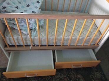 Детский мир - Буденовка: Продам кроватку маятник фирмы BELLONA. Турция. В отличном