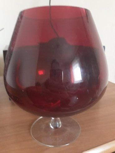 Velika dekor čaša - Loznica