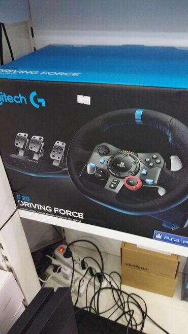 Руль Logitech G29 + КППW/app Наш адрес ТЦ ЦУМ 4 этаж отдел В12Магазин