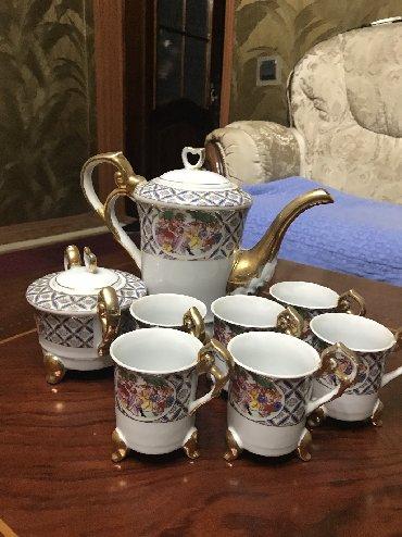фарфоровый сервис в Кыргызстан: Чайный сервис Комплект Посуда