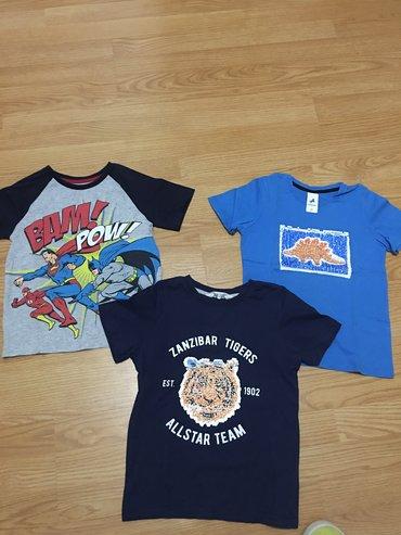 Prelepe majice, vel 122, cena po komadu 450