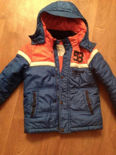 Зимняя куртка для мальч.5-6 лет(sela) в идеальном состоянии в Бишкек