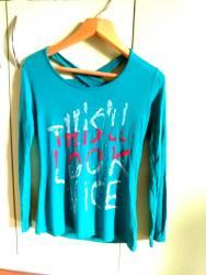 трикотажная рубашка в Кыргызстан: Трикотажная кофта,M/L размер. Цвет зеленоватый. Тонкий трикотаж