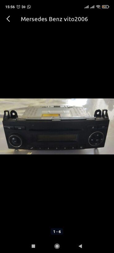 Avtomobil elektronikası - Azərbaycan: Mercedes Benz Vito 2006 üçün maqnitola