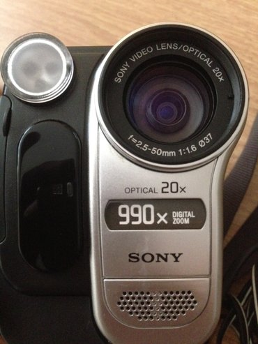 Sony video camera recorder. Qalofqasında problem var alşaqı qiymete в Баку