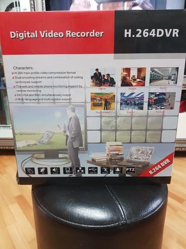 video kaset - Azərbaycan: Digital Video Recorder H.264 DVR