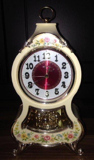istehsal bazasını satıram - Azərbaycan: Bezekli stolüstü saat. Yaponiyada istehsal olunub