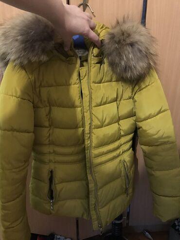Zimske jakne sa krznom - Srbija: Zimska jakna PRAVO KRZNO  Jakna je nosena par puta kupljena je sa rajf