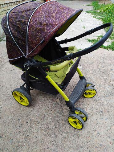 Детский мир - Орловка: Коляска в хорошем состоянии, только надо почистить, цена окончательная