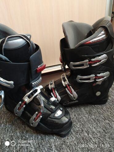 Лыжи - Кыргызстан: Продаю! Лыжные мужские ботинки LOWA anatomic fit хорошем состоянии
