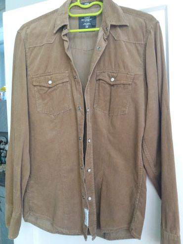 Muška odeća | Bor: SNIZENJE. PREDIVNA. Novo . Somot. svetlo braon. samo 350