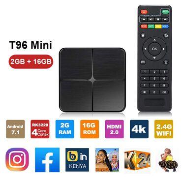 TV Box T96 Mini 2/16 Ram androidModel: T96 Mini AndroidCPU: RK3229