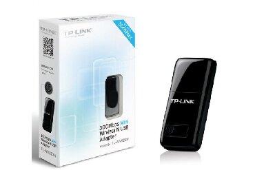 Wi Fi Адаптер для ПКN300 Мини Wi-Fi USB-адаптерTL-WN823NСкорость