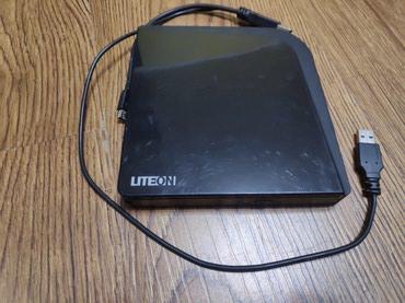 Продаю DVD+-RW&CD-RW LITEON eSAU108 EXTERNAL SLIM USB2.0 в Бишкек