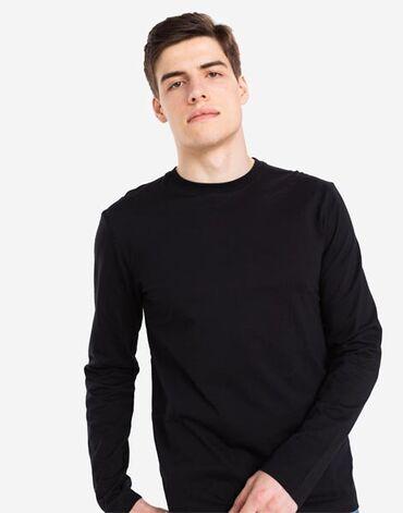 Продаю чёрный лонгслив-свитшот чёрного цвета от фирмы Bogner. Брал в