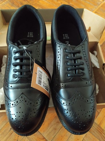 Мужская обувь в Азербайджан: 41 razmer, ayaqqabının burnu dəmirdəndir. 41 размер, носовая часть из