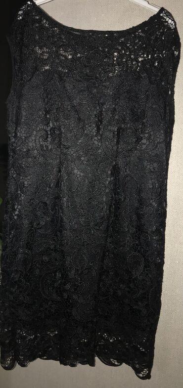 гипюр платье в Кыргызстан: Гипюровое платье футляр сшито на заказ, размер 48-50 длина выше колен