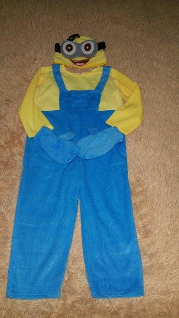 Продаю костюм миньона,в отличном сост.одевали 2 раза.размер подойдет н в Бишкек