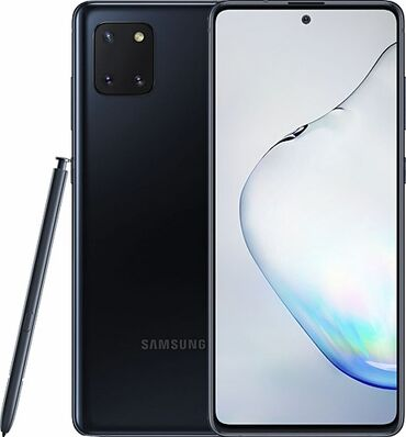 S 2 - Azərbaycan: İşlənmiş Samsung Note 10 Lite 128 GB qara